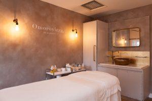 Omorovicza Liberty London treatment room retail design beauty bespoke design manufacturer