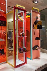 Matches LFW aw17 fashion window display visual merchandising bespoke prop manufacture retail design