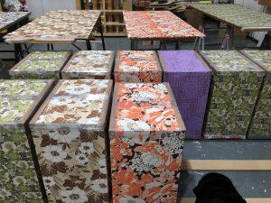Matches fashion wallflower visual merchandising window display bespoke prop manufacture