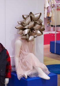 stella mccartney instore christmas display international selfridges prop making bespoke prop manufacture retail display mannequin