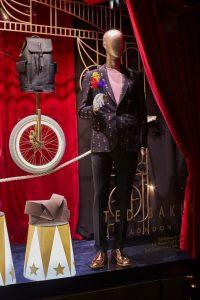 ted baker the greatest showman selfridges oxford street window display bespoke prop manufacturer visual merchandising